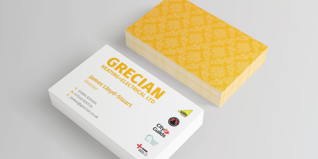 Grecan Heating and Electrical Branding