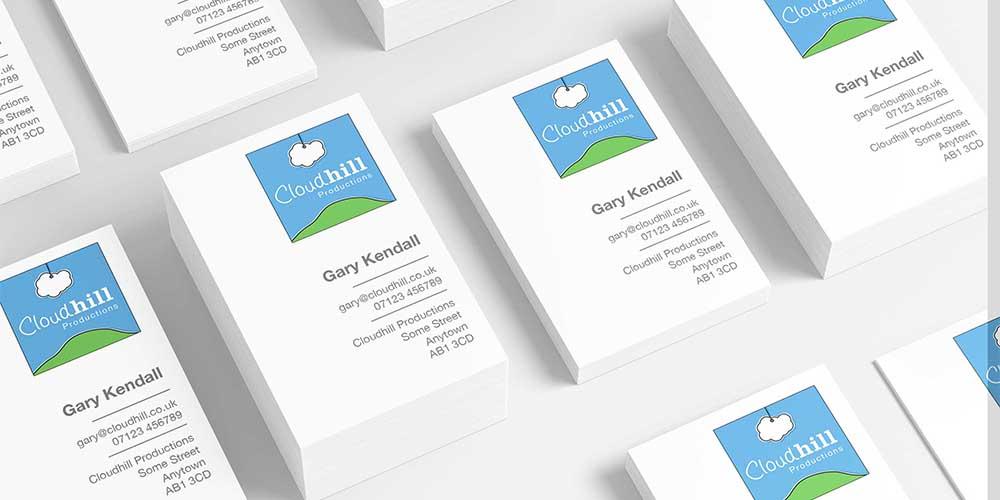 Cloudhill Productions Logo Design