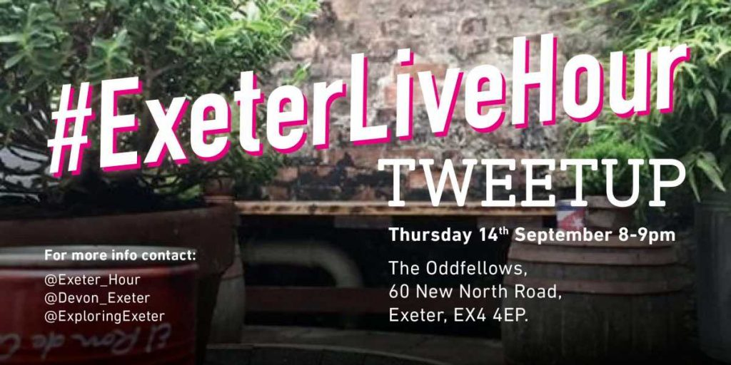 #ExeterLiveHour Tweetup