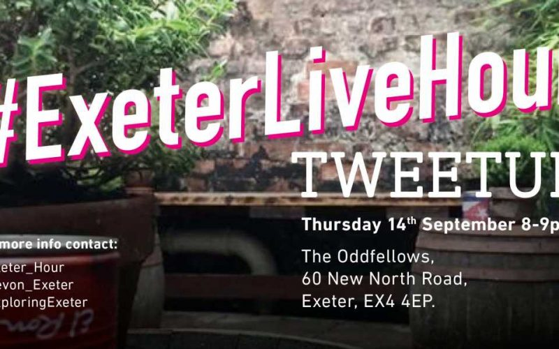 #ExeterLiveHour Tweetup