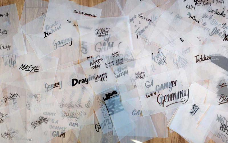 Hand lettering Devon Dialect: #DoYouSpeakDevon